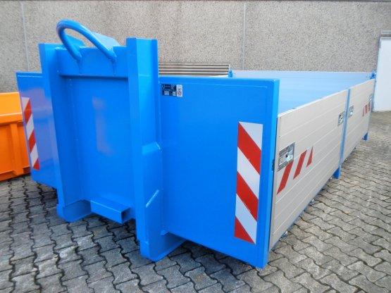 broll-Container-Kippaufbau mit Aluminium-Bordwänden