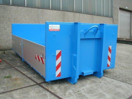 broll-Container-Kippaufbau mit seitlichen Aluminiumbordwänden