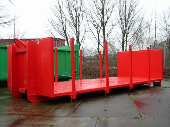 Abroll-Container-Plattform
