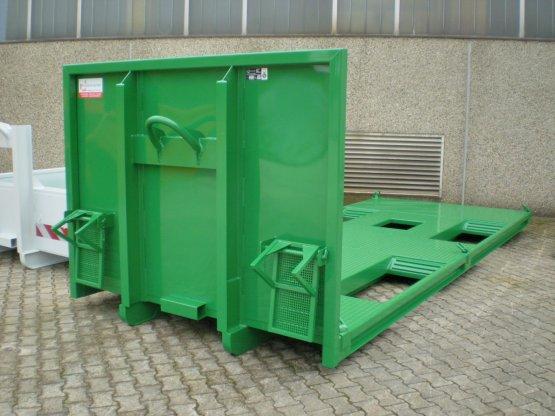 Abroll-Container-Plattform zum Radladertransport