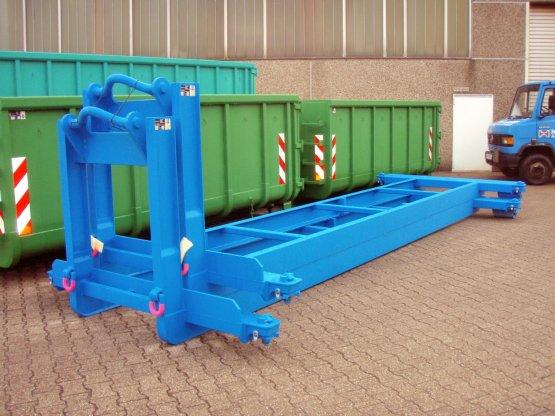 Spezielle Abroll-Container-Unterrahmen mit ISO-Containerverriegelungen
