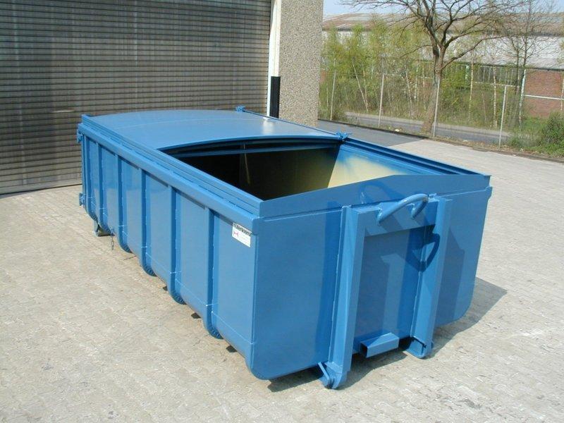 Abrollcontainer, 2-teiliges Schiebedach