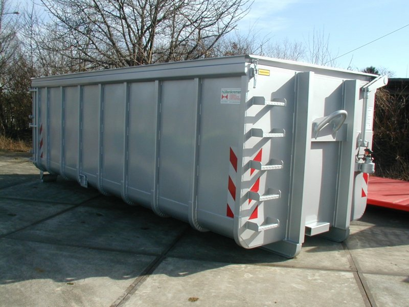 Abrollcontainer, Klappdach
