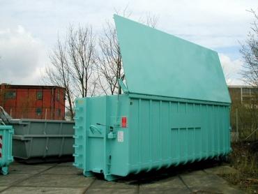 Abrollcontainer gedeckte Ausführung