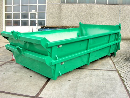 City-Stapelcontainer mit Heckklappe
