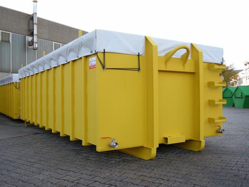 Edelstahl Abroll-Container, Planenabdeckung