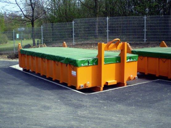Entwässerungs Abrollcontainer