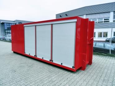 Feuerwehr-Abroll-Container, geschlossen
