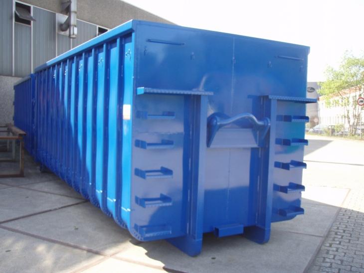 Offener Abrollcontainer, 4-Achser-Ausführung
