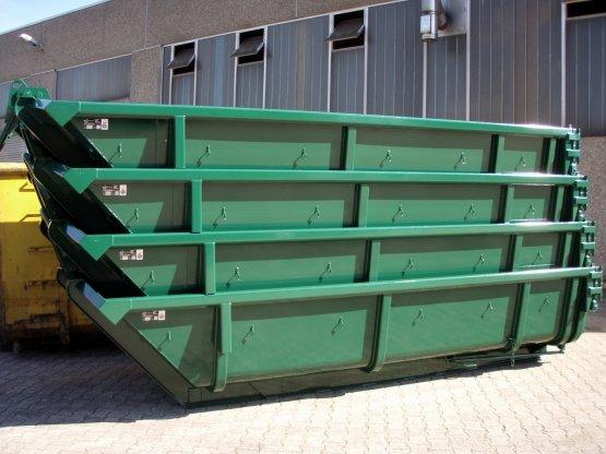 Stapelcontainer 133 ° mit Doppelflügeltür