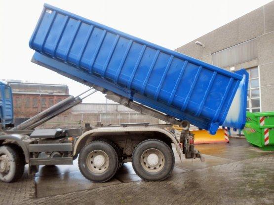 Offener Abroll-Container, Inhalt ca. 16 m³, mit automatischer Klappenverriegelung