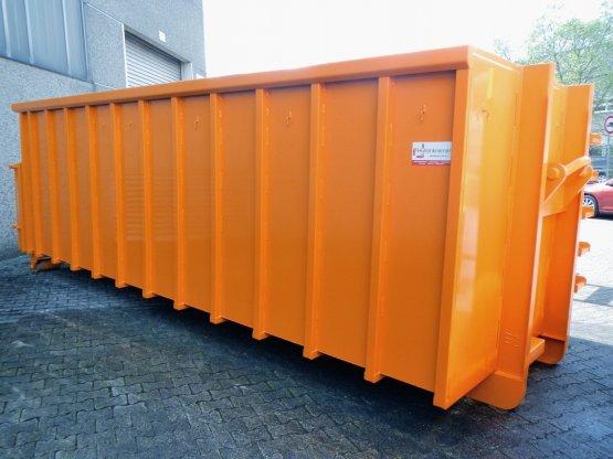 Offener Schlamm-Wasser / Abroll-Container mit flüssigkeitsdichter Heckklappe, Inhalt ca. 25,5 m³