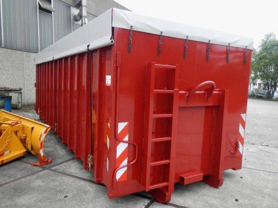 Offener Abroll-Container mit Seitentüren, Inhalt ca. 34 m³