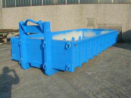 Offener Spezial-Abroll-Container für den Einsatz im Tagebau