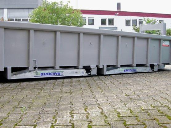 Container-Alu-Auffahrschienen 6 to (Paar)
