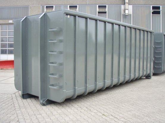 Großcontainer mit Seilsystemaufnahme