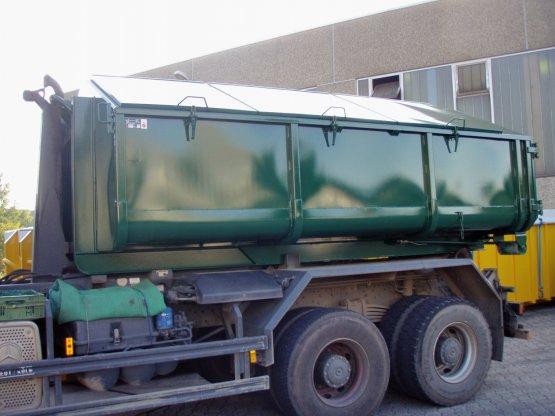 Hausmüll-Abrollcontainer, Inhalt ca. 13,5 m³