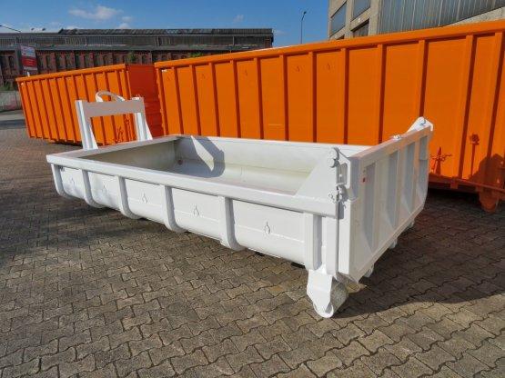 Offener Abrollcontainer mit Entleerungsklappe, Inhalt ca. 5 m³