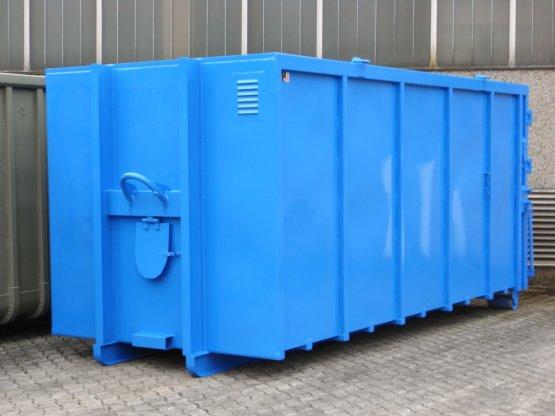 Magazin-Abrollcontainer für Bohrgeräte, Inhalt ca. 26 m³ mit Diebstahlschutz