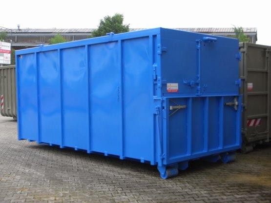 Magazin-Abrollcontainer für Bohrgeräte, Inhalt ca. 26 m³