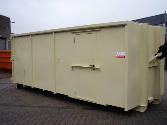 Magazin Abrollcontainer mit Innenausbau
