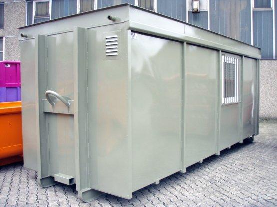 Magazin-Abrollcontainer mit Seitentür