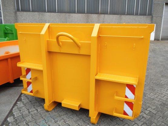 Offener Abrollcontainer mit Doppelflügeltür, Inhalt ca. 23 m³