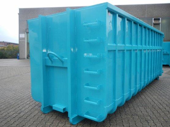 offener Abrollcontainer Bauchbinde