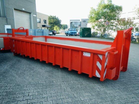Offener Abrollcontainer mit Doppelflügeltür, Inhalt ca. 9 m³
