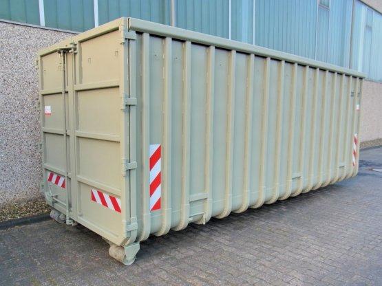 Offener Großcontainer mit Doppelflügeltür, verstärkt