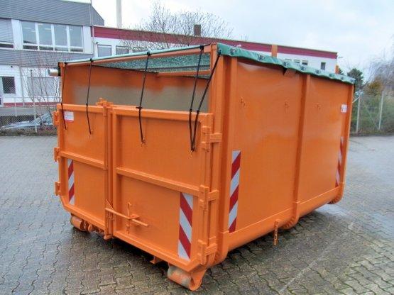 offener City-Container mit Netzgewebe