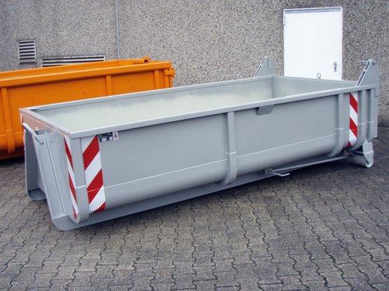 offener City-Container, pendelbare Entleerungsklappe