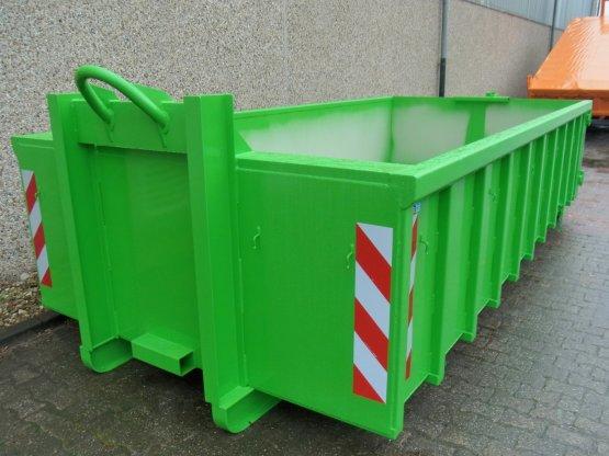Offener Abrollcontainer mit Doppelflügeltür, Inhalt ca. 11,5 m³